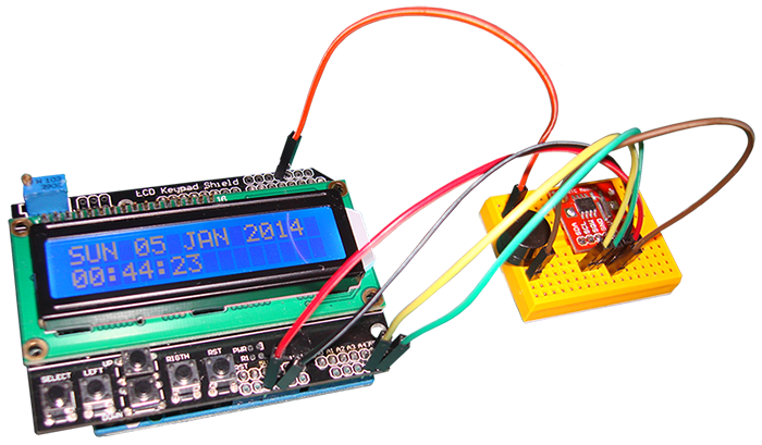 Clock ,RTC DS1307 SET AND SHOW THE TIME ON YOUR LCD