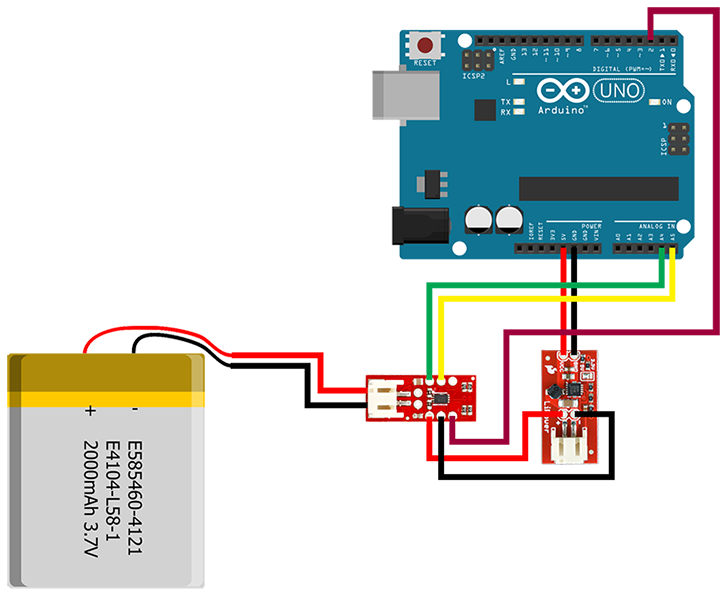 tutorial] LiFuelGauge | Blog - Codebender Arduino IDE